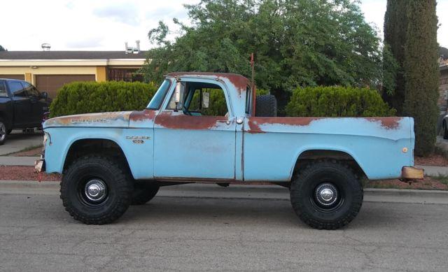 1968 dodge truck 4x4