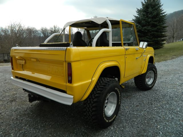 1968 early ford bronco 4x4 v8 289 corvette yellow convertible for sale ford bronco 1968 for. Black Bedroom Furniture Sets. Home Design Ideas