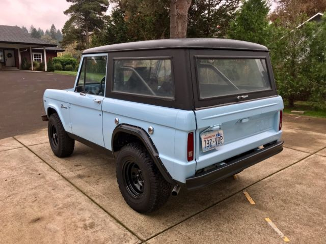 1968 ford early bronco barn find runs drives excellent ps v8 no reserve for sale ford. Black Bedroom Furniture Sets. Home Design Ideas