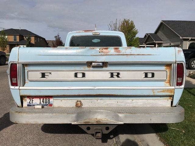 1968 ford f 100 ranger 1 2 ton long bed pickup truck low reserve for sale ford f 100 ranger. Black Bedroom Furniture Sets. Home Design Ideas