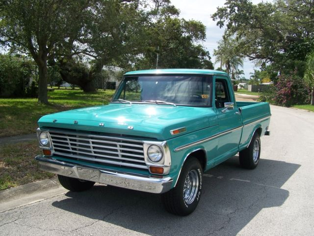 1968 Ford F100 Short Bed Pickup Truck Frame Off