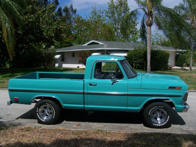 Palm Bay Ford >> 1968 FORD F100 SHORT BED PICKUP TRUCK - Frame off Restoration - Nice! for sale - Ford F-100 1968 ...