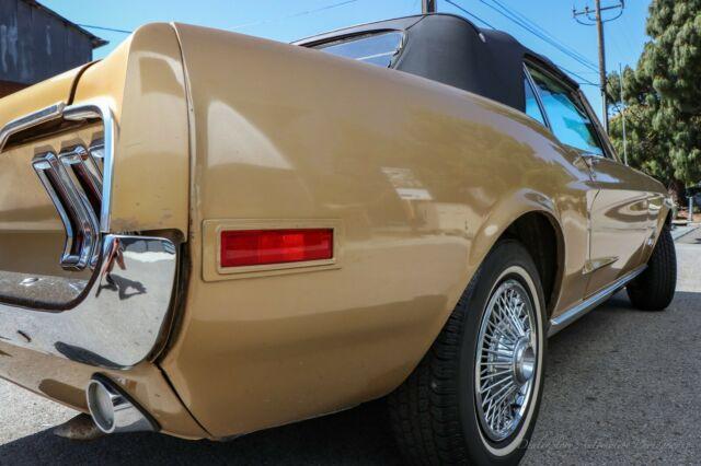 1968 Ford Mustang Convertible  All Original California