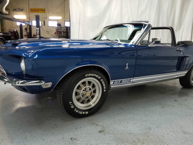 1968 Ford Mustang Convertible Shelby Gt350 Tribute For