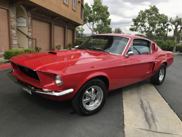 1968 ford mustang fastback 289 4 speed manual for sale ford mustang 1968 for sale in beverly. Black Bedroom Furniture Sets. Home Design Ideas