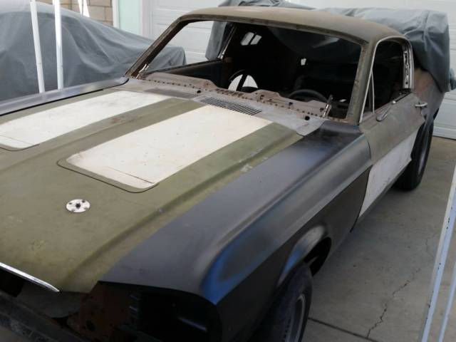 1968 ford mustang fastback gt j code for sale ford mustang fastback 1968 for sale in lake. Black Bedroom Furniture Sets. Home Design Ideas