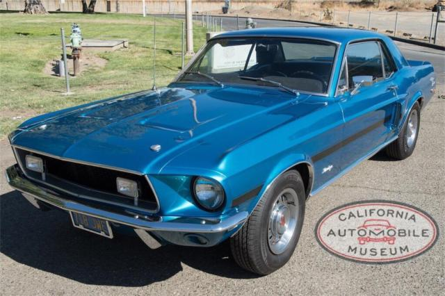 1968 ford mustang gt california special automatic for sale ford mustang 1968 for sale in. Black Bedroom Furniture Sets. Home Design Ideas