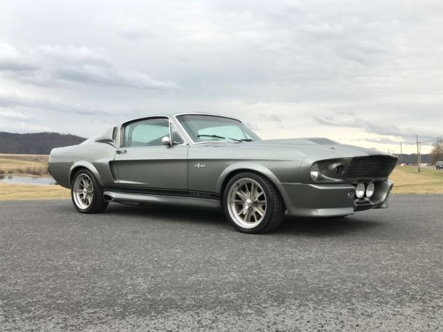 1968 ford mustang gt500 eleanor signed by nicolas cage cinemavehicleservices for sale ford. Black Bedroom Furniture Sets. Home Design Ideas