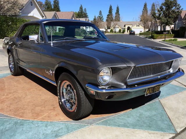 1968 ford mustang restomod 289 v8 ps pb see video. Black Bedroom Furniture Sets. Home Design Ideas