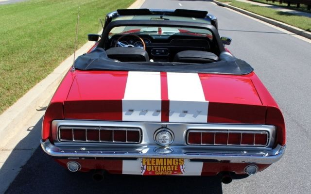 1968 ford mustang shelby gt350 supercharged flemings for Garage ford vernon 27200
