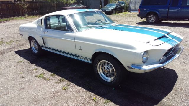 1968 Ford Shelby Gt 350 Numbers Matching Motor