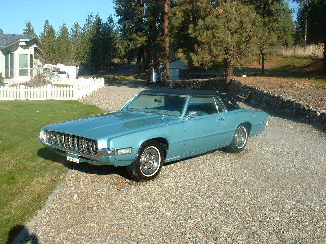 Ford Thunderbird Coupe Actual Miles V Hp Rare Options