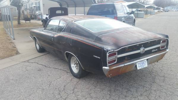 1968 ford torino gt fastback 302 automatic sport roof 69 bucket seat center con for sale ford. Black Bedroom Furniture Sets. Home Design Ideas