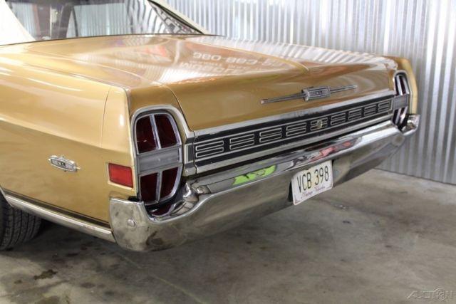 1968 Galaxie Convertible Factory Q Code 428, Cast Iron Headers