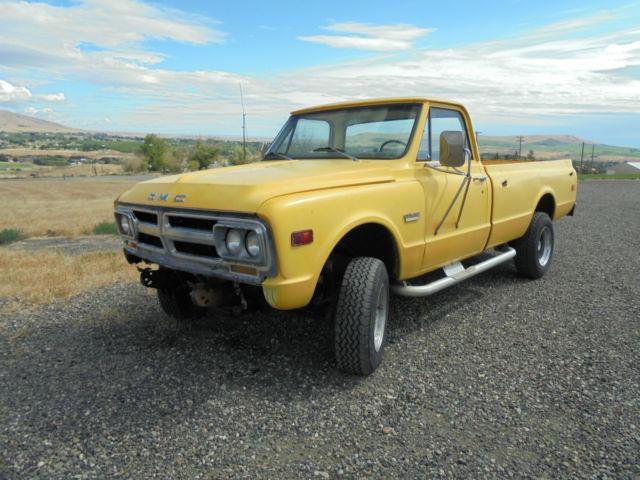 1968 gmc k20 4x4 pickup chevy block brake k10 disc automatic sierra 2500 cab