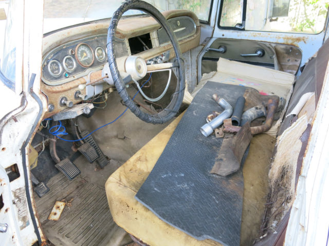 Travelette For Sale >> 1968 IH Travelette International Harvester rare crew cab short bed 4x4 project for sale ...