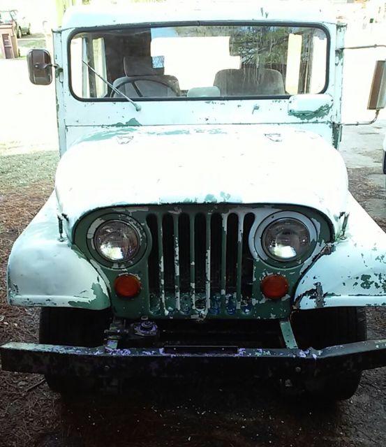 Old Postal Jeeps For Sale: 1968 Kaiser Postal Jeep For Sale