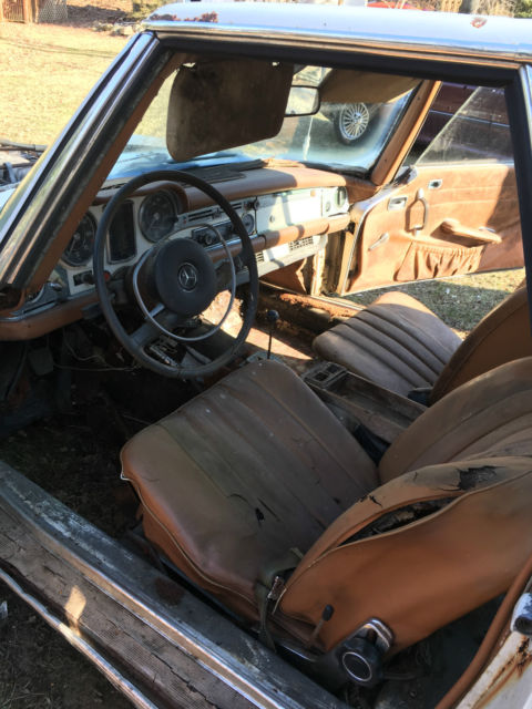 1968 mercedes 250sl all original and complete for parts for Mercedes benz original parts