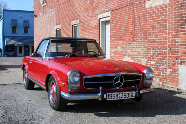 1968 mercedes benz 260 sl nicely restored low miles for Mercedes benz 260