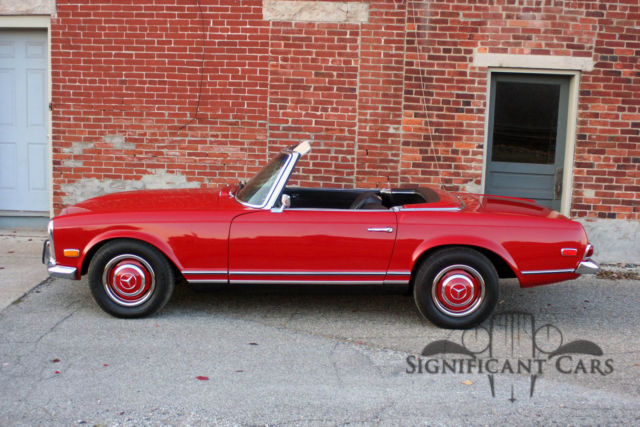 1968 mercedes benz 260 sl nicely restored low miles for Mercedes benz 1968 for sale