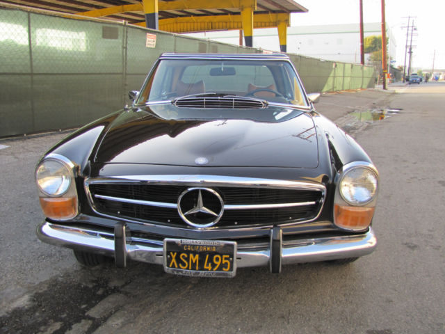1968 mercedes benz 280sl california coupe for sale for Mercedes benz 1968 for sale