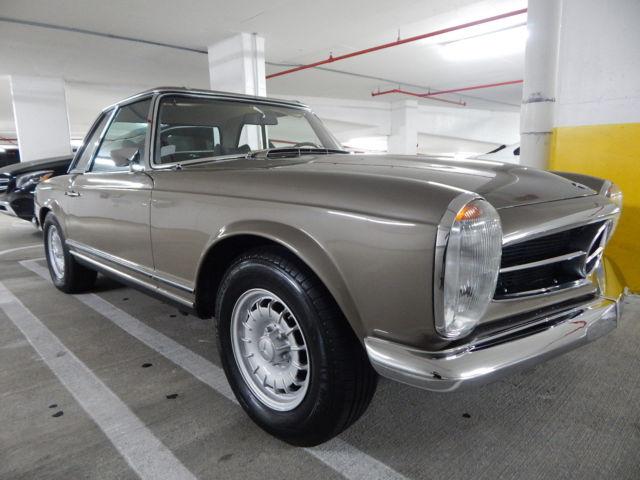 Classic Car Restoration Mercedes Benz  Sl In Florida