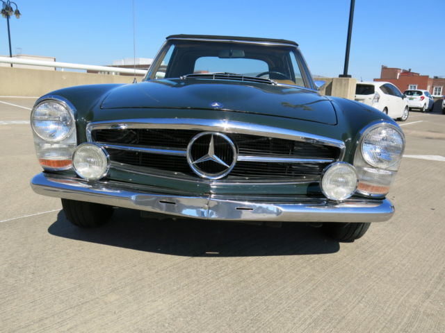 1968 mercedes benz 280sl fully serviced sorted 76 800 for Mercedes benz evansville in