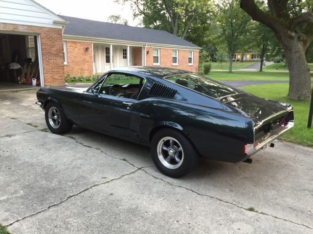 1968 mustang bullitt fastback for sale ford mustang 1968 for sale in lake forest illinois. Black Bedroom Furniture Sets. Home Design Ideas