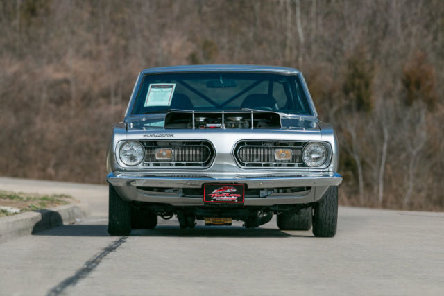 1968 plymouth barracuda super stock tribute max wedge hemi for sale
