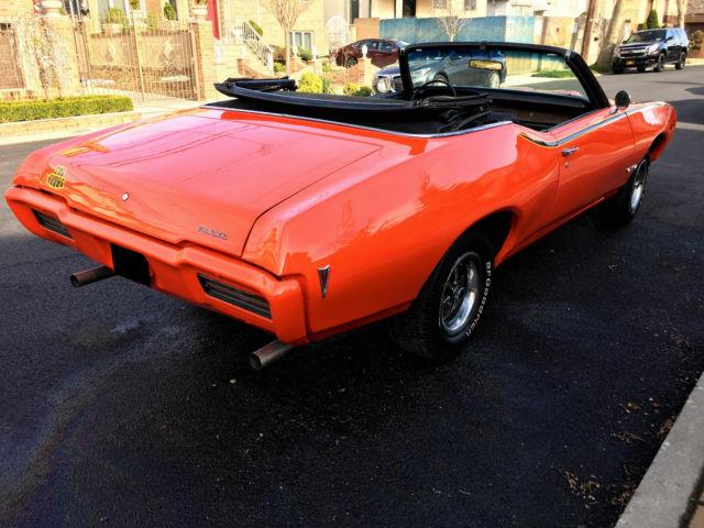1968 Pontiac GTO Judge Convertible Tribute NO RESERVE
