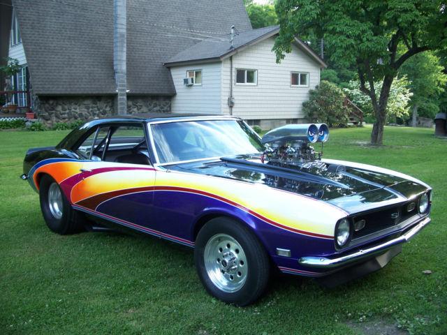 1968 Pro Street Camaro Blown Bbc For Sale Chevrolet Camaro Ss 1968 For Sale In Catskill New