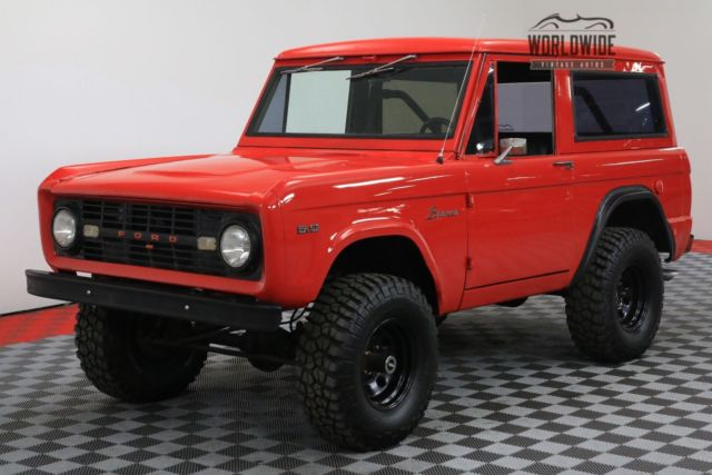 1968 red 302v8 lifted 3 speed manual pb 4x4 for sale ford bronco 302v8 lifted 3 speed manual. Black Bedroom Furniture Sets. Home Design Ideas