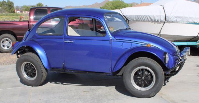 1968 Volkswagen Beetle Classic W Baja Kit Car Cover Extra