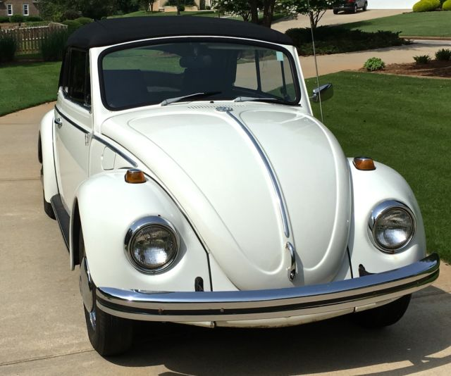 Vw Beetle Classic Car: 1968 Volkswagen Beetle Convertible For Sale