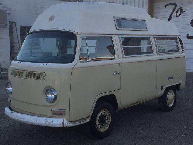 1968 Volkswagen Bus Highroof Hightop Camper Van Campervan Adventurewagen for sale - Volkswagen ...