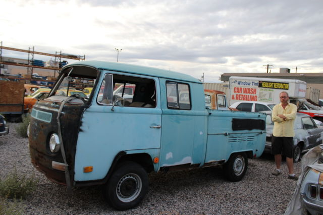37a718d6e5 1968 volkswagen dbl cab bus. rare double cab bay window sold as is needs  restora for sale - Volkswagen Bus Vanagon pick up 1968 for sale in Las  Vegas