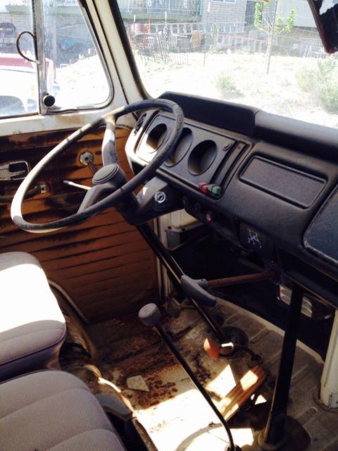 1968 Vw Transporter Single Cab Pickup Bus Vanagon For Sale