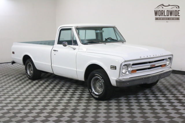 1968 White V8 Auto Rebuilt Engine For Sale Chevrolet