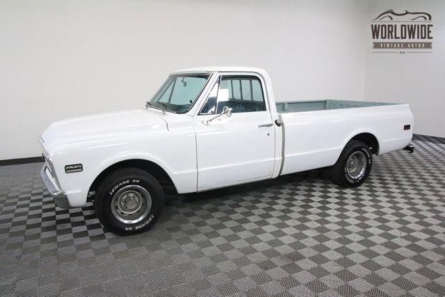 1968 white v8 auto rebuilt engine for sale chevrolet for Chevy v8 motors for sale