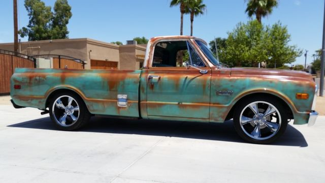 1969 69 Chevy Clean C10 V8 Patina Shop Truck Ac Lowered 20
