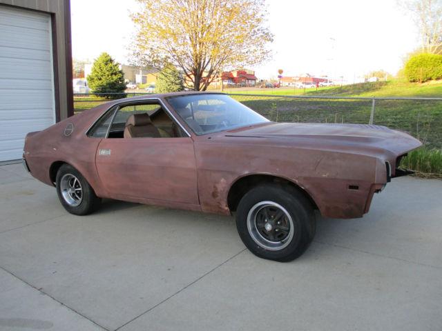 1969 American Motors Amx 390 4sp Go Pac For Sale Amc
