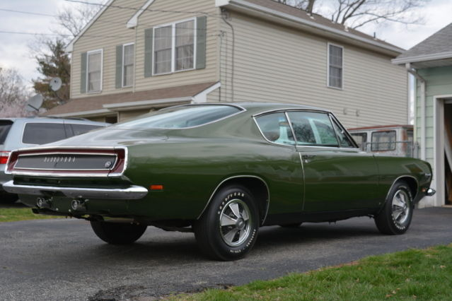 1969 Barracuda Formula S For Sale Plymouth Barracuda