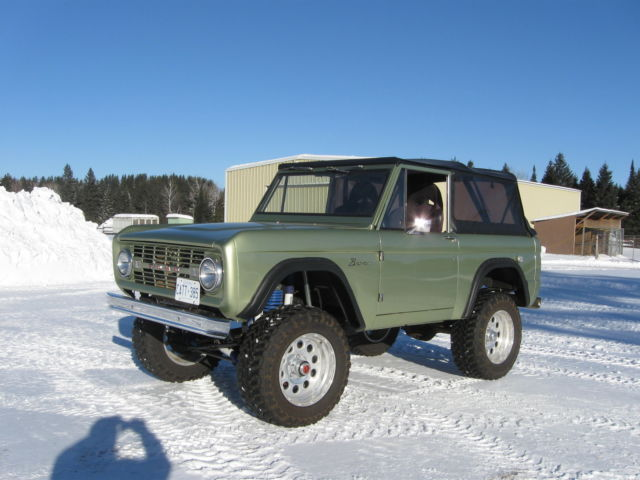 1969 bronco for sale ford bronco 3500 1969 for sale in thunder bay ontario canada. Black Bedroom Furniture Sets. Home Design Ideas
