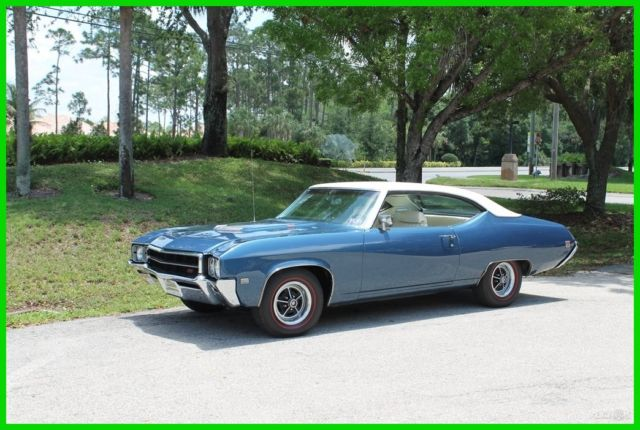 1969 Buick Gs 400 V8 Skylark 69 Grand Sport Muscle Car Air Condition Bucket Seat For Sale Buick Gs 400 Grand Sport Gs 400 V8 Hardtop 1969 For Sale In Bonita Springs Florida United States