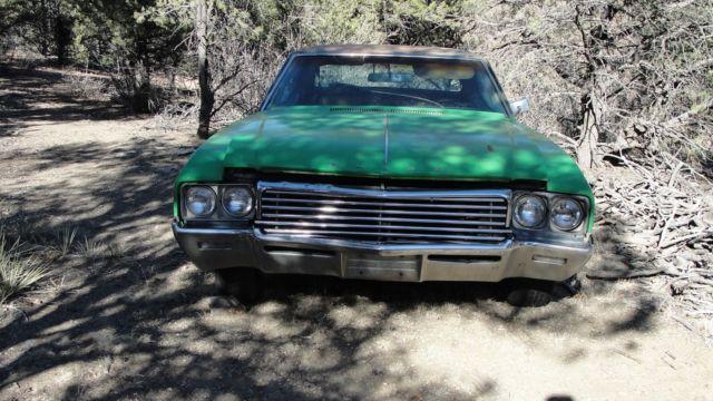 1969 buick skylark 4 door fixer upper the green monster 116 000 miles tow away for sale. Black Bedroom Furniture Sets. Home Design Ideas