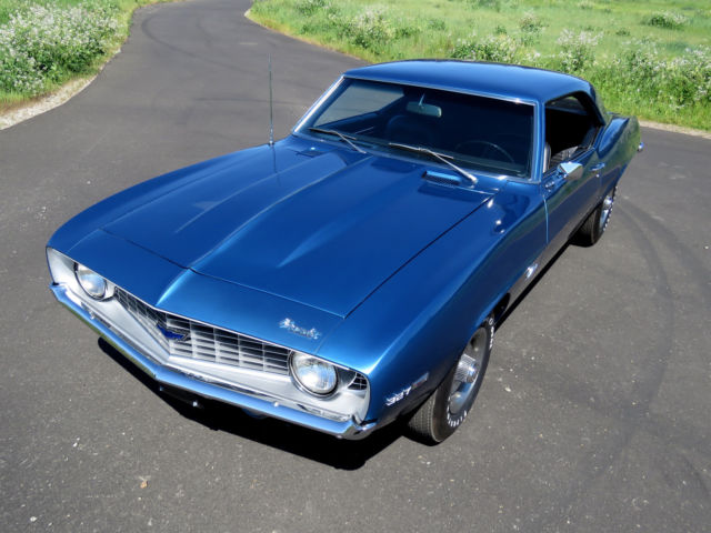 1969 camaro 51k original miles frame off nut bolt restored for sale. Black Bedroom Furniture Sets. Home Design Ideas