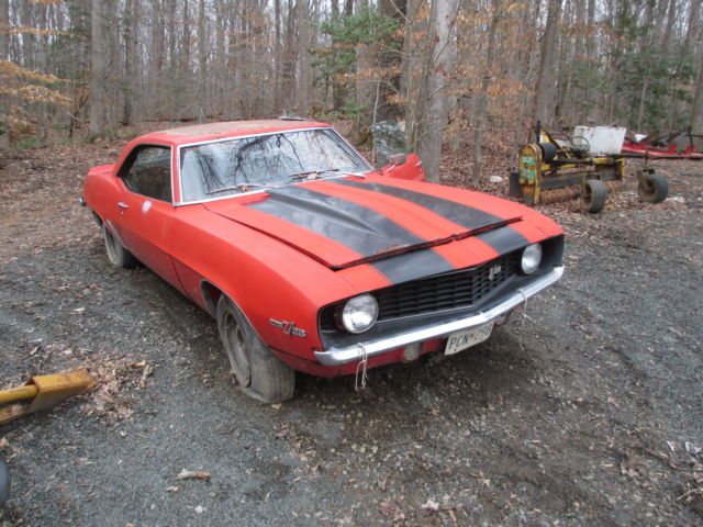 1969 camaro big block ss 4 speed x 22 code project car virginia for sale chevrolet camaro. Black Bedroom Furniture Sets. Home Design Ideas