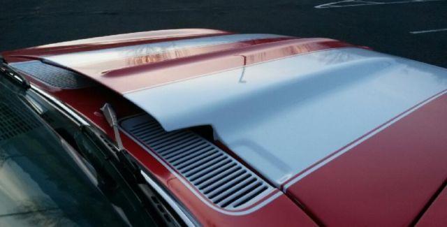 1969 camaro nice red paint interior wheels tires exhaust cowl hood v 8 for sale. Black Bedroom Furniture Sets. Home Design Ideas