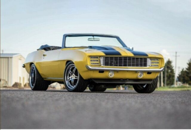 1969 CAMARO PRO-TOURING RESTO MOD LSA SUPERCHARGED ENGINE