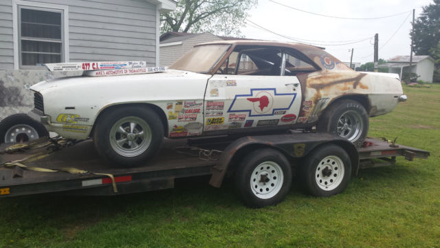1969 camaro project x11 4 speed old bracket drag race car clear title roller for sale. Black Bedroom Furniture Sets. Home Design Ideas